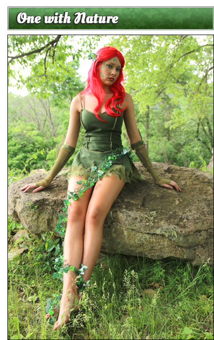 Poison Ivy Poses One With Nature