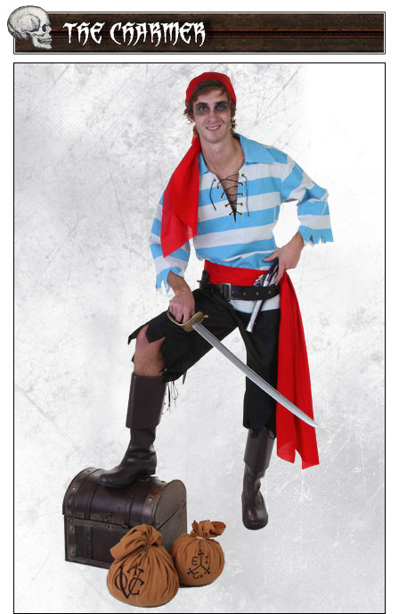 Charmer Pirate Costume Pose