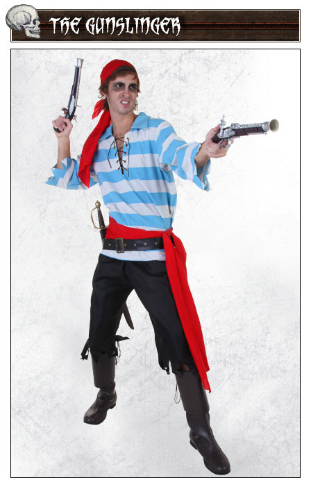 Gunslinger Pirate Costume Pose