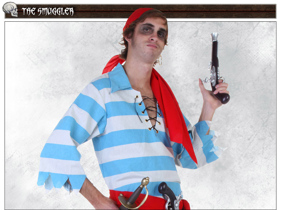Smuggler Pirate Costume Pose