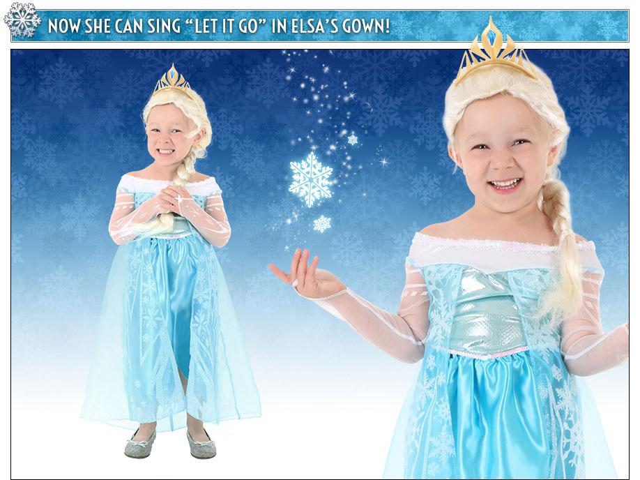 Child Elsa Costume