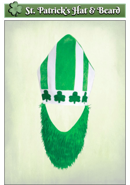 St. Patrick's Day Pope Hat
