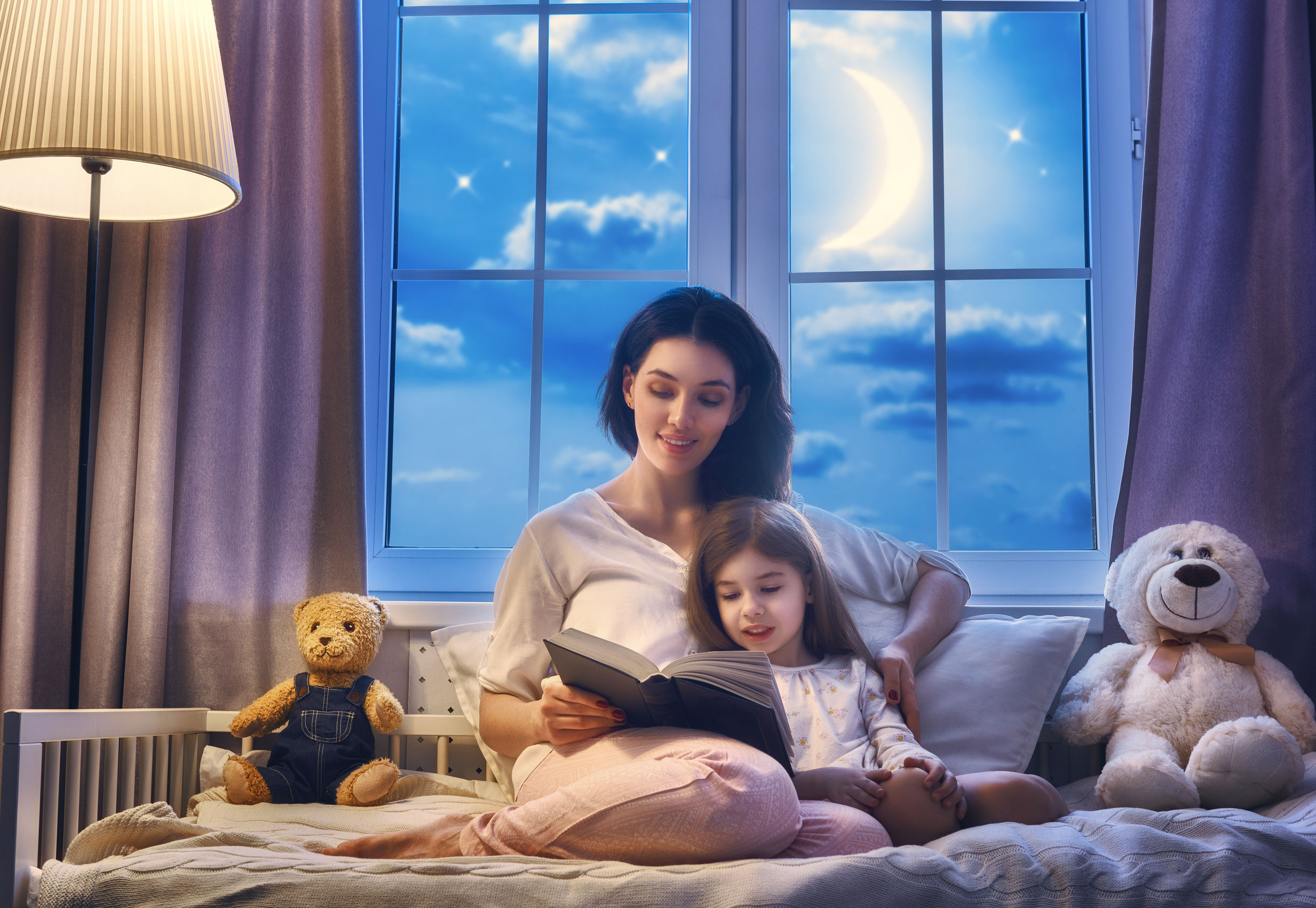 Reading Fairy Tales and Bedtime Stories