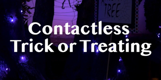 Contactless Trick-or-Treating