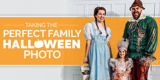 Taking the Perfect Family Halloween Photo