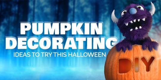 Halloween at Home 2020: Pumpkin Decorating Ideas