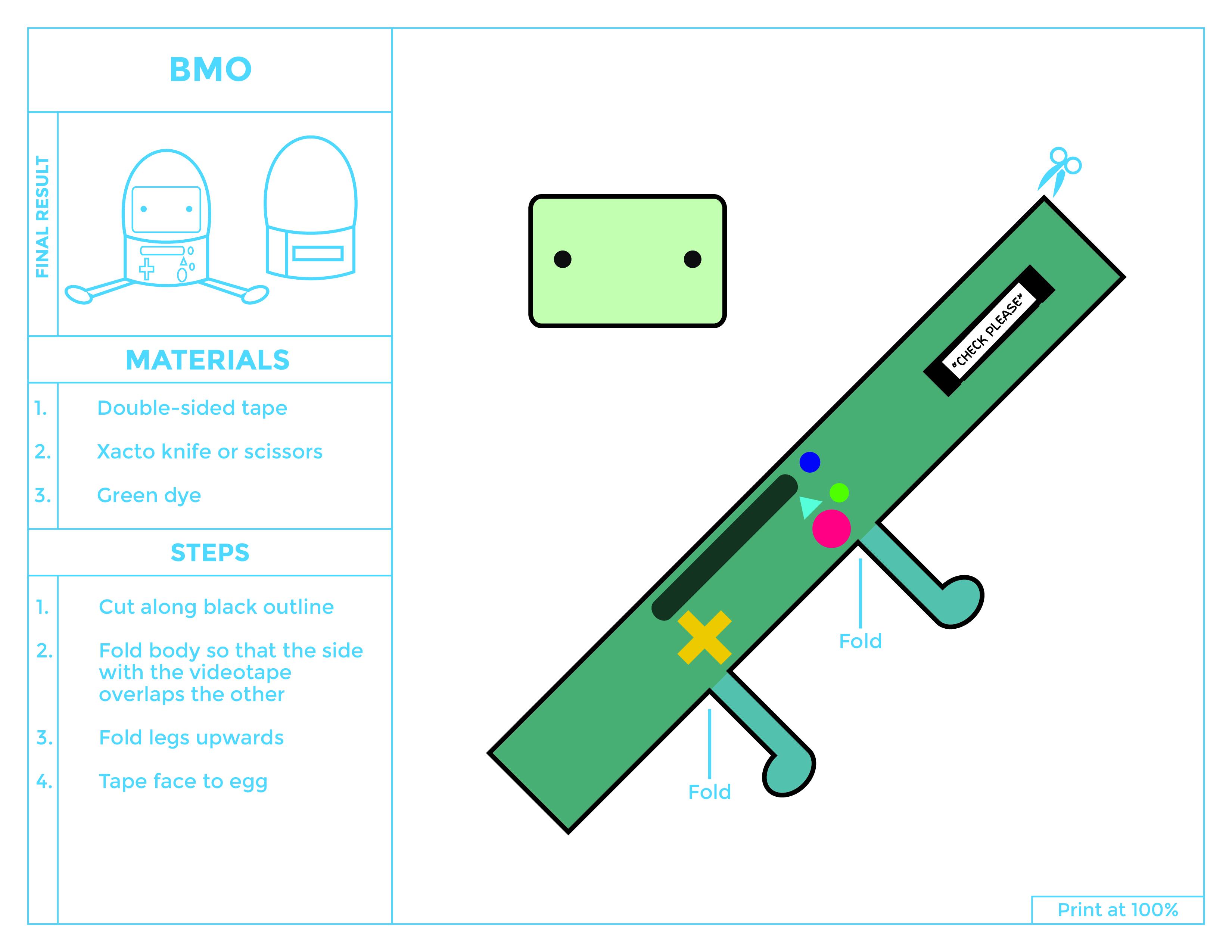 BMO Egg Printable