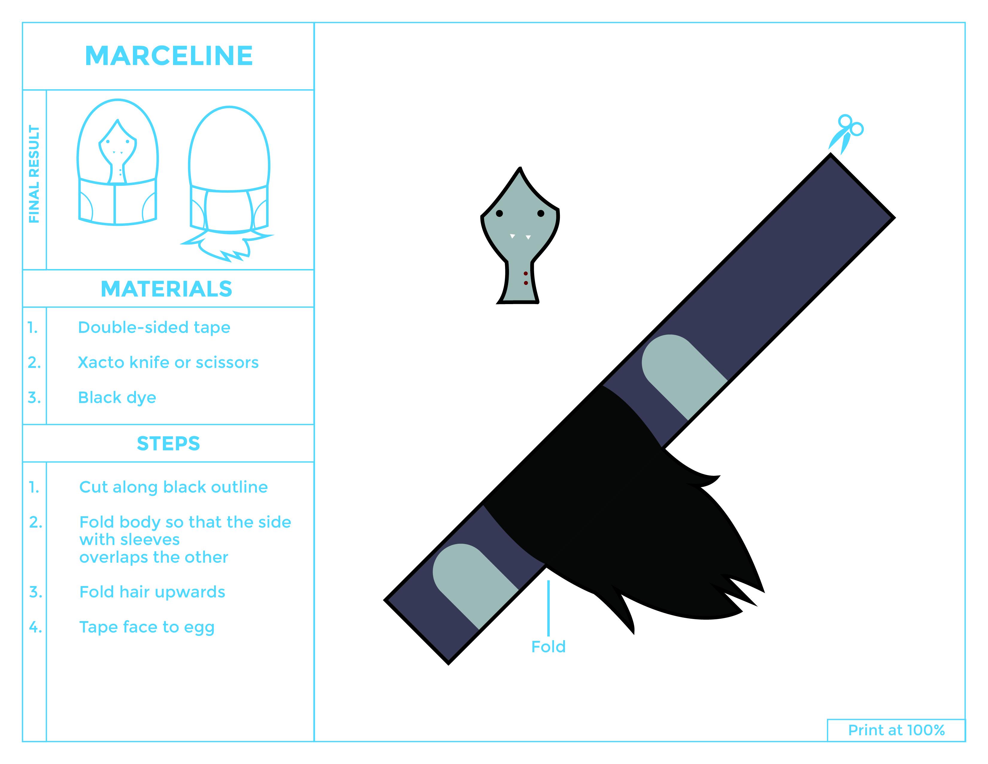 Marceline Egg Printable