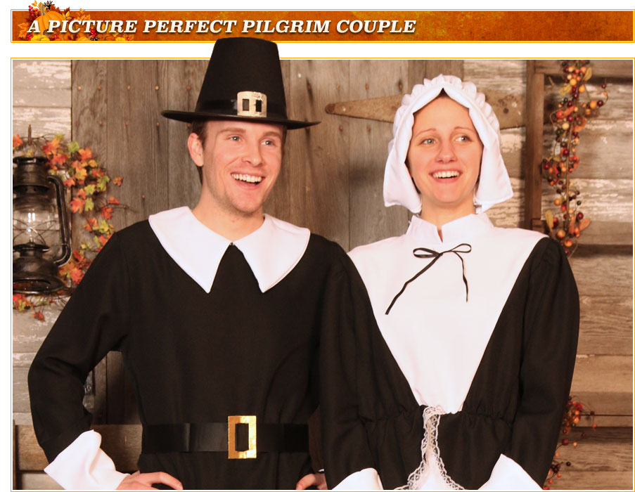 Adult Pilgrim Costumes