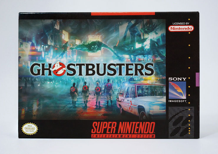 Ghostbusters SNES