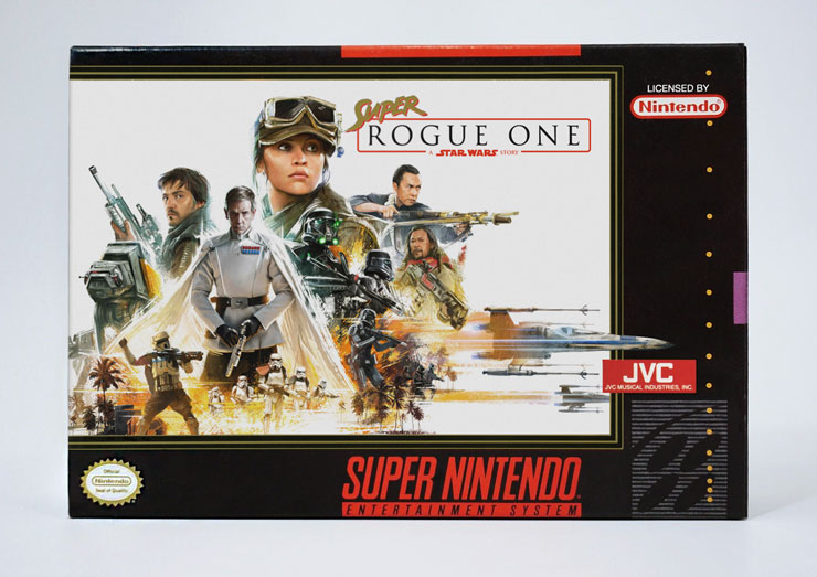 Star Wars Rogue One SNES