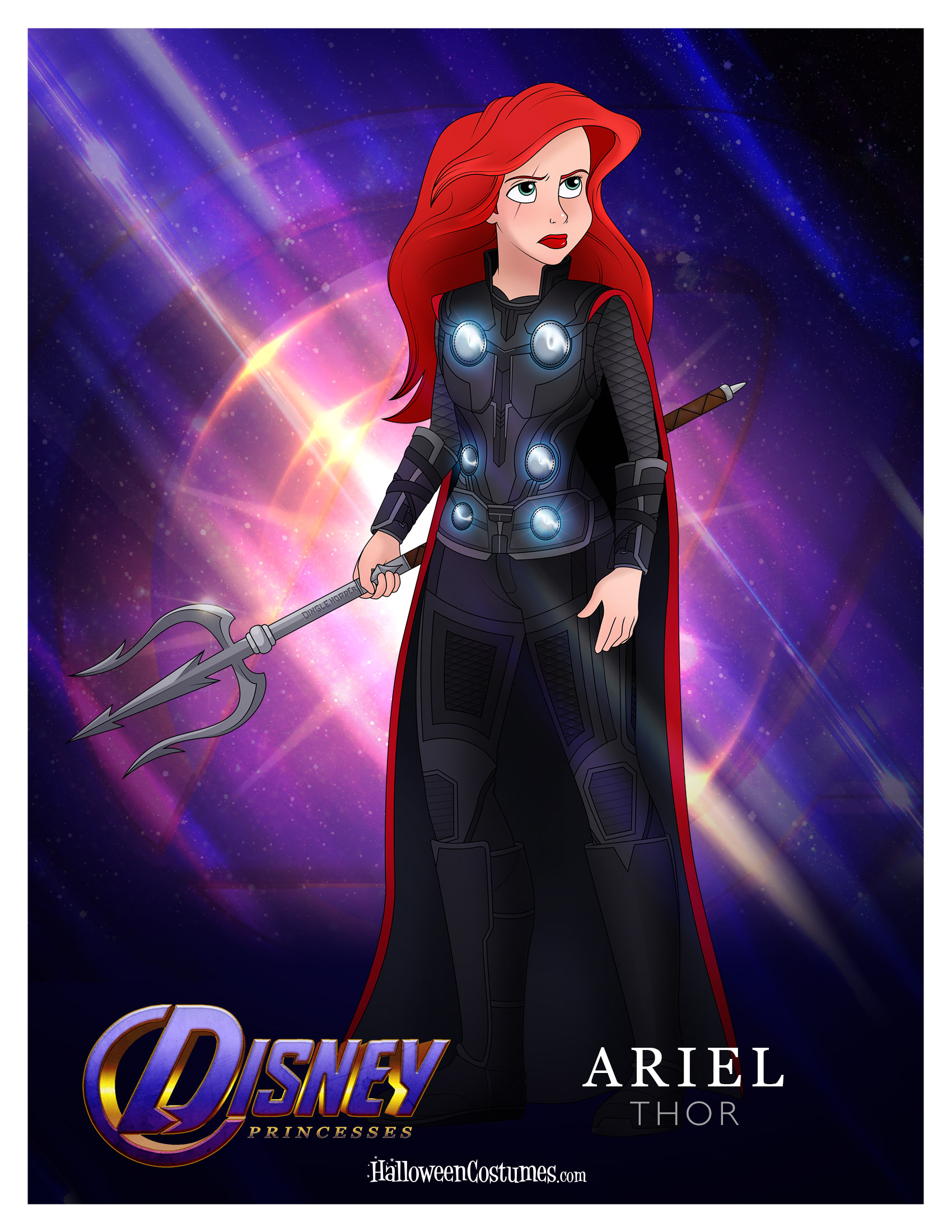 Princesses, Assemble! Disney Princess Avengers Mashup ...