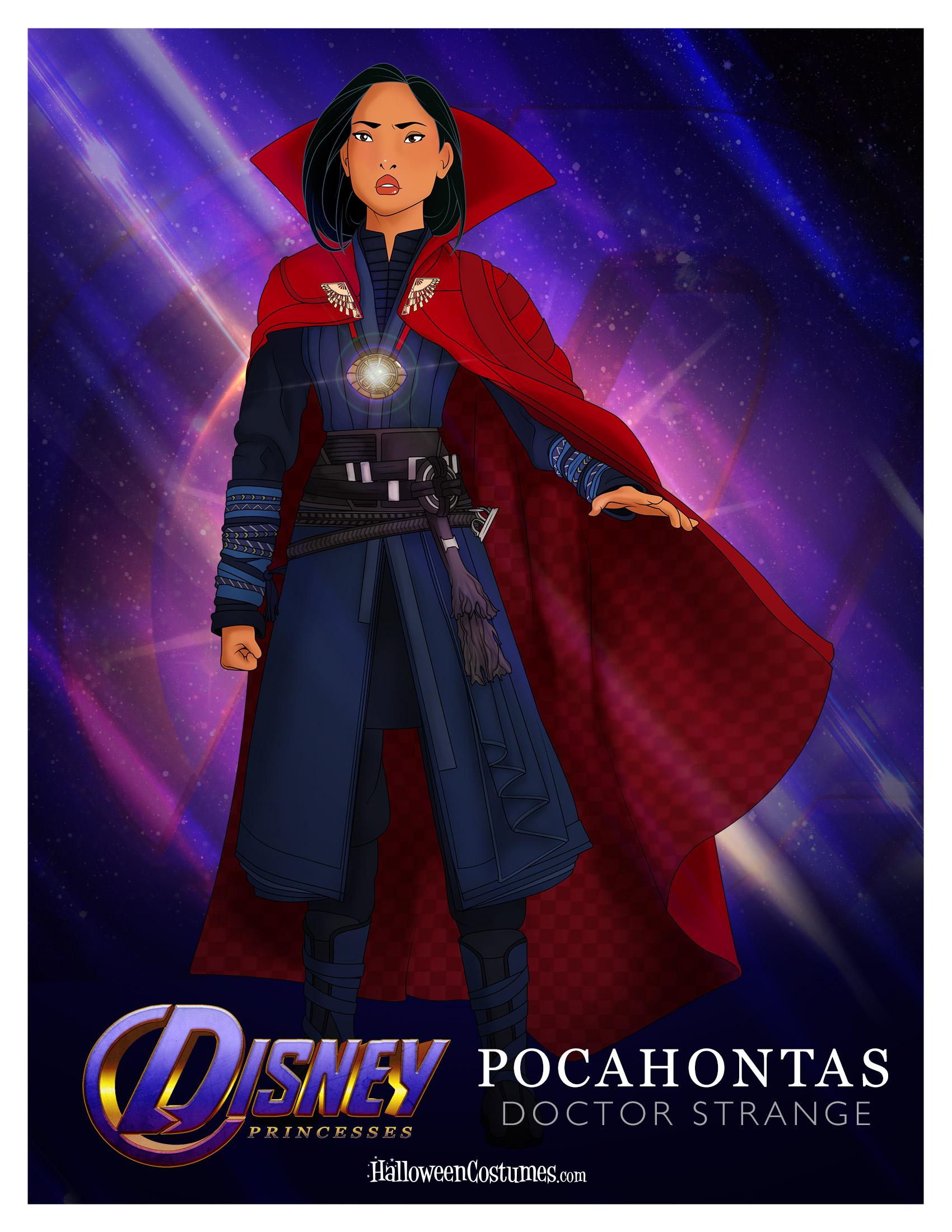 Princess Pocahontas as Doctor Strange
