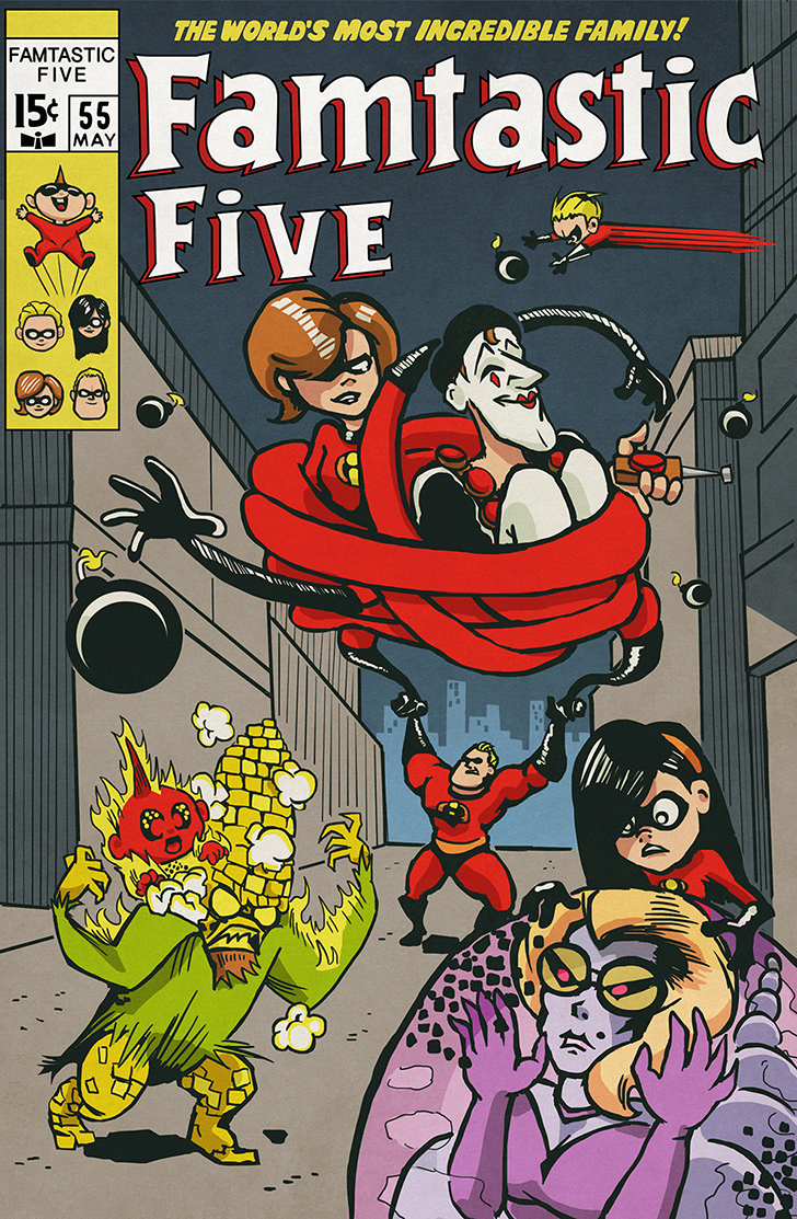 Incredibles Fantastic Five