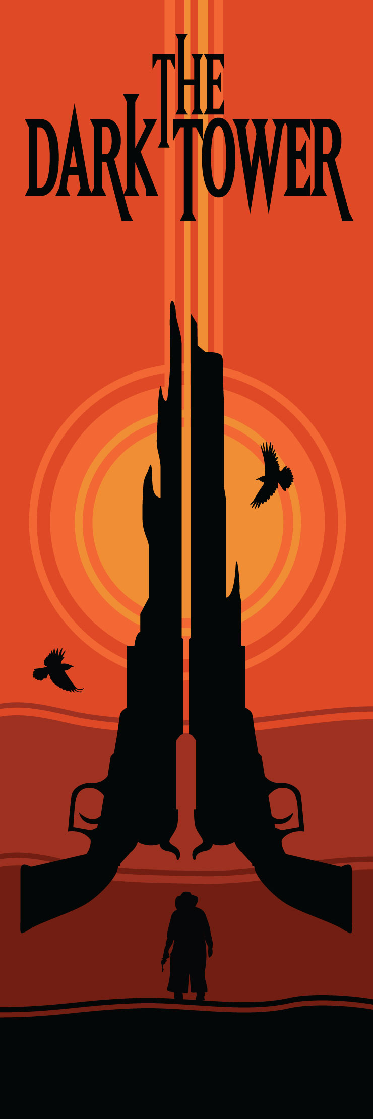 The Dark Tower Series Bookmark
