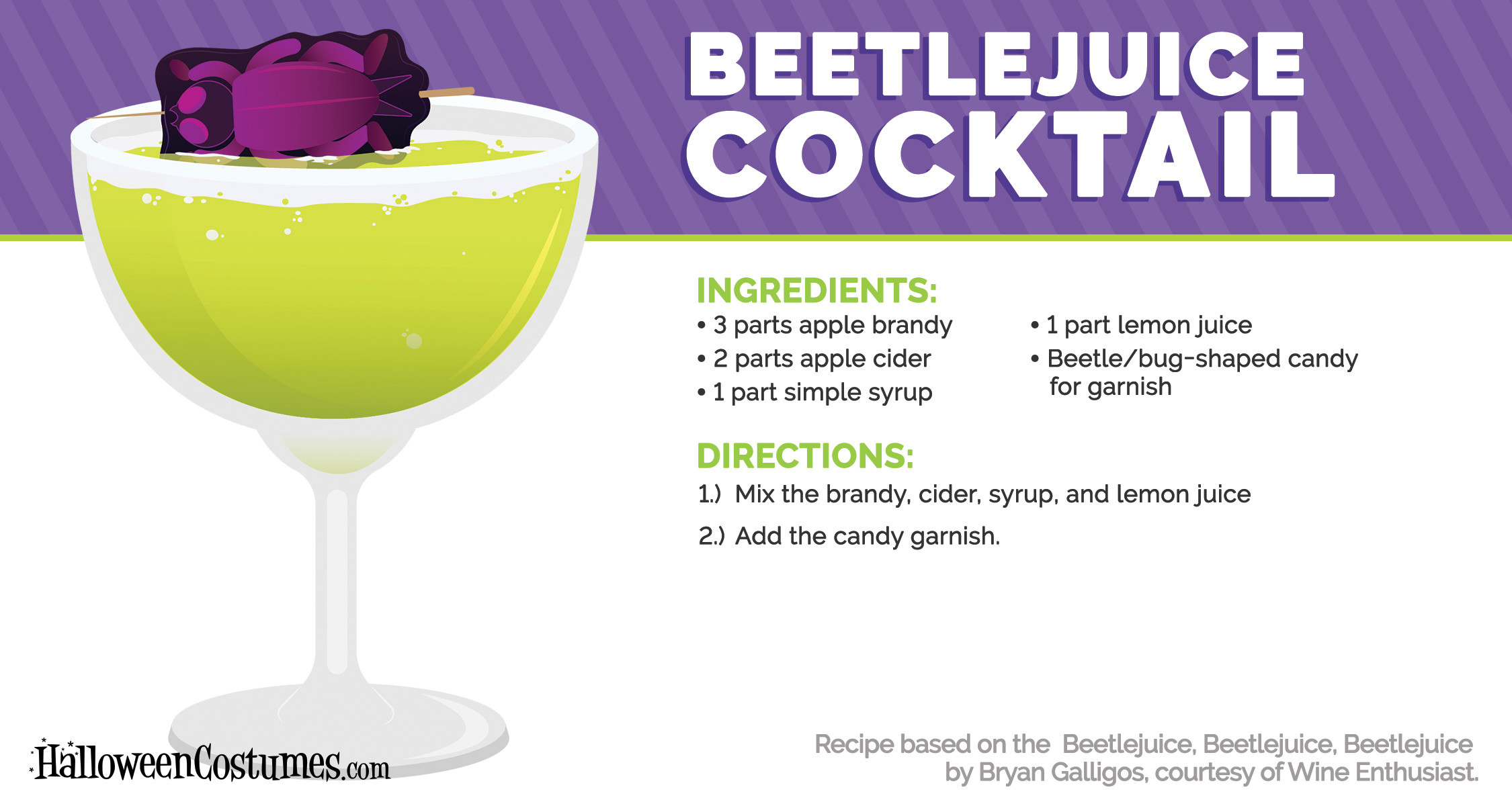 Beetlejuice Beetlejuice Cocktail Recipe