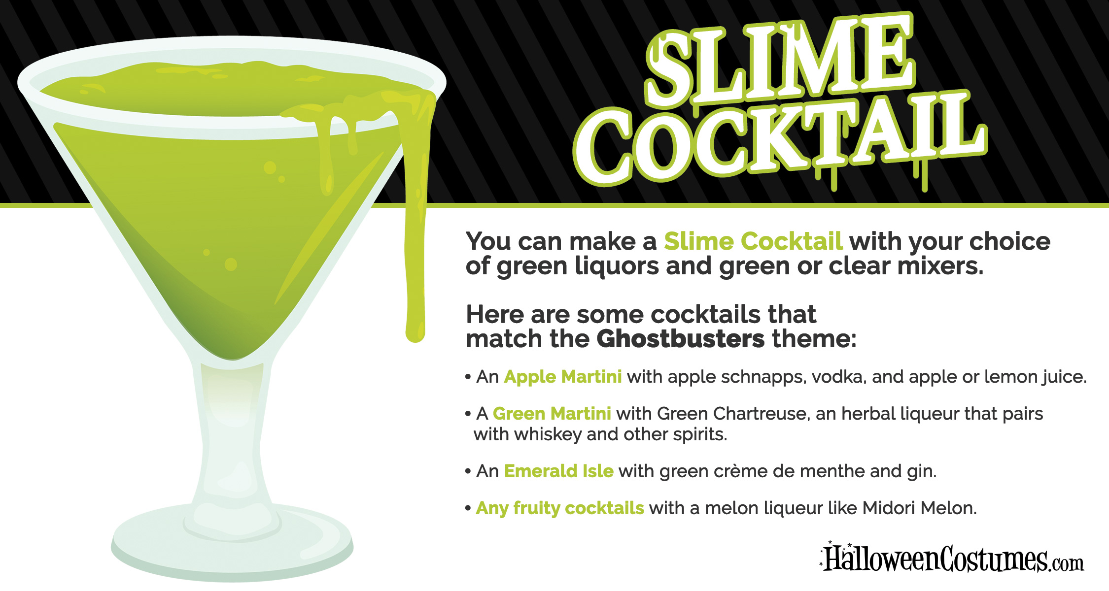 Ghostbusters Slime Cocktail Recipe