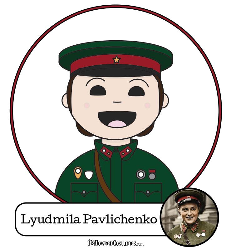 Women Warriors: Lyudmila Pavlichenko