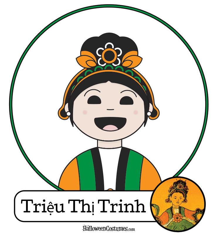 Women Warriors: Triệu Thị Trinh