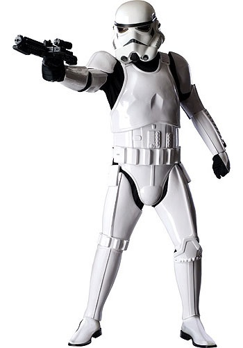Las pilas Authentic-stormtrooper-cost