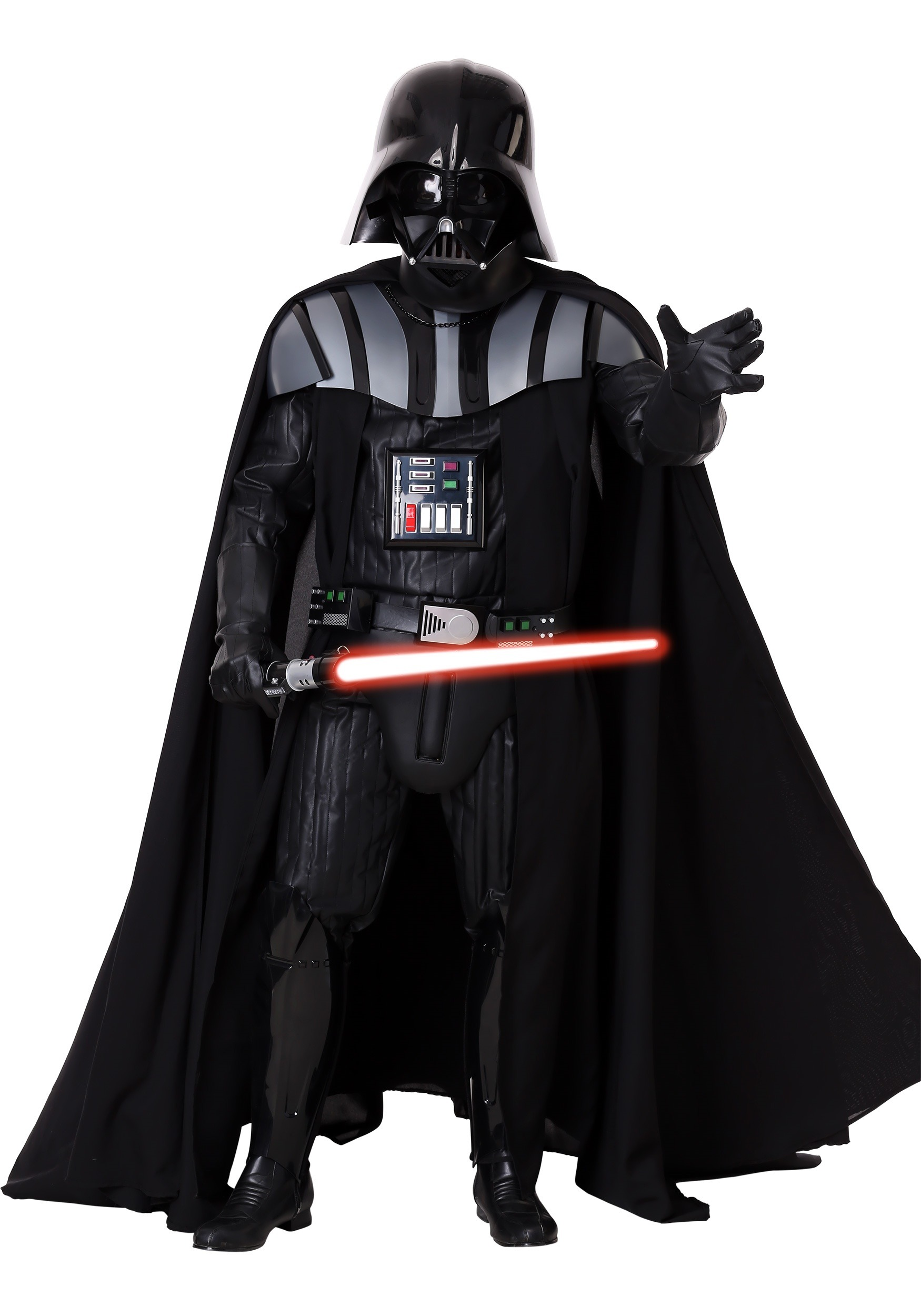 authentic darth vader costume. Black Bedroom Furniture Sets. Home Design Ideas