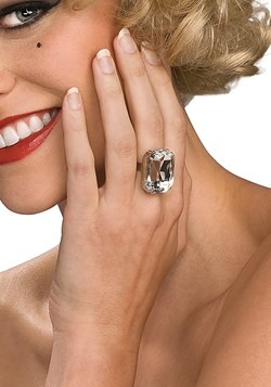 Costume Diamond Ring