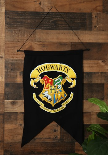 Click Here to buy Harry Potter Hogwarts Banner from HalloweenCostumes, USA Funds & Shipping