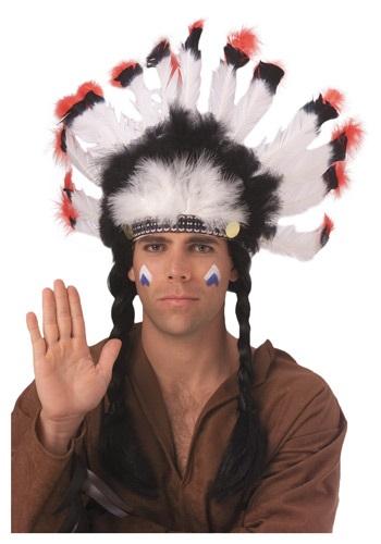 Feathered Native American Headdress