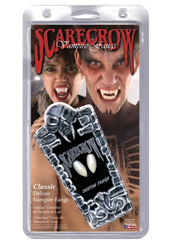 Click Here to buy Vampire Fangs from HalloweenCostumes, CDN Funds