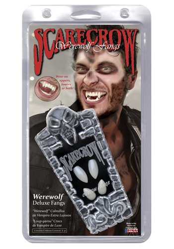 Adult Werewolf Teeth By: Scarecrow Inc. for the 2015 Costume season.