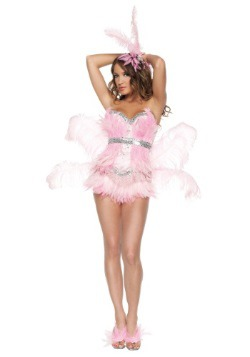Sexy Pink Flamingo Costume