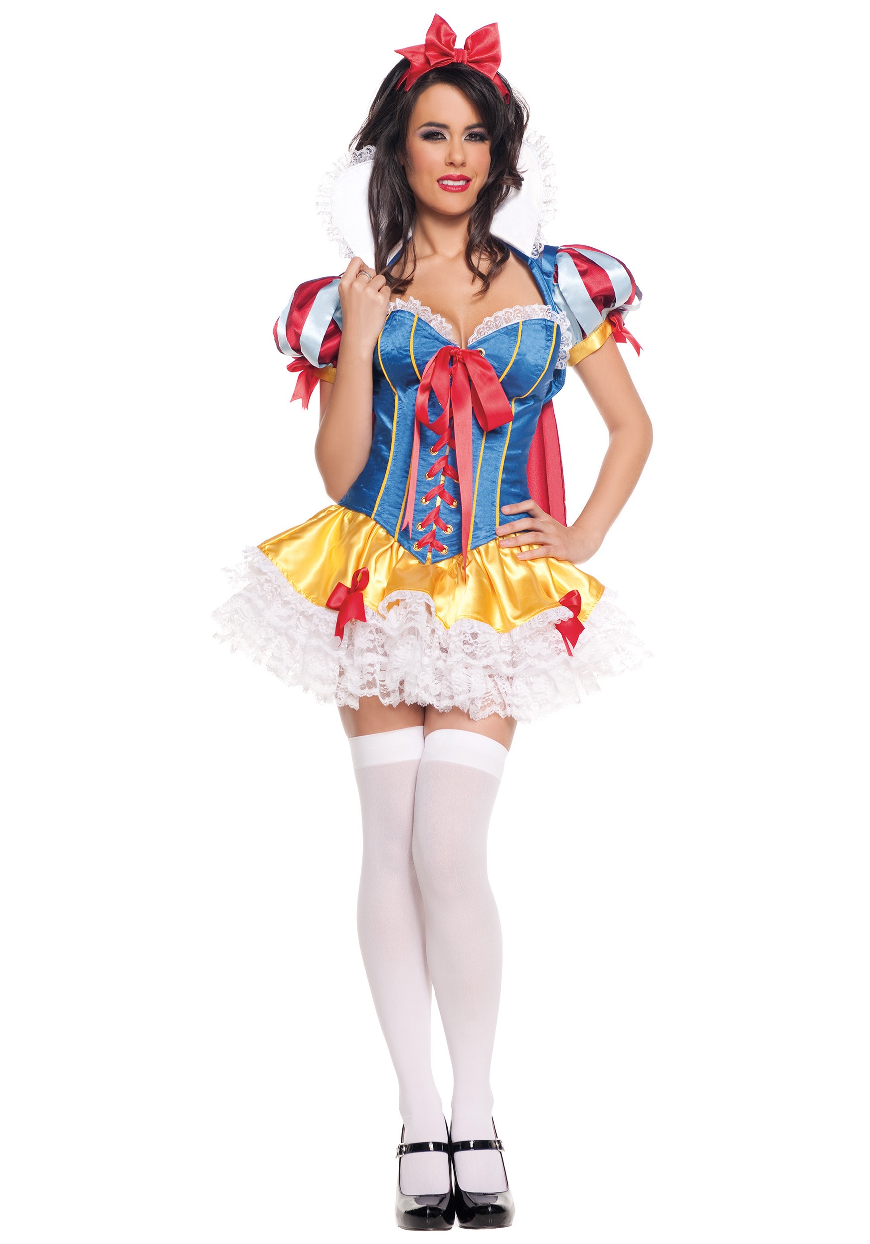 9611d934b34 Lacy Sassy Snow White Costume