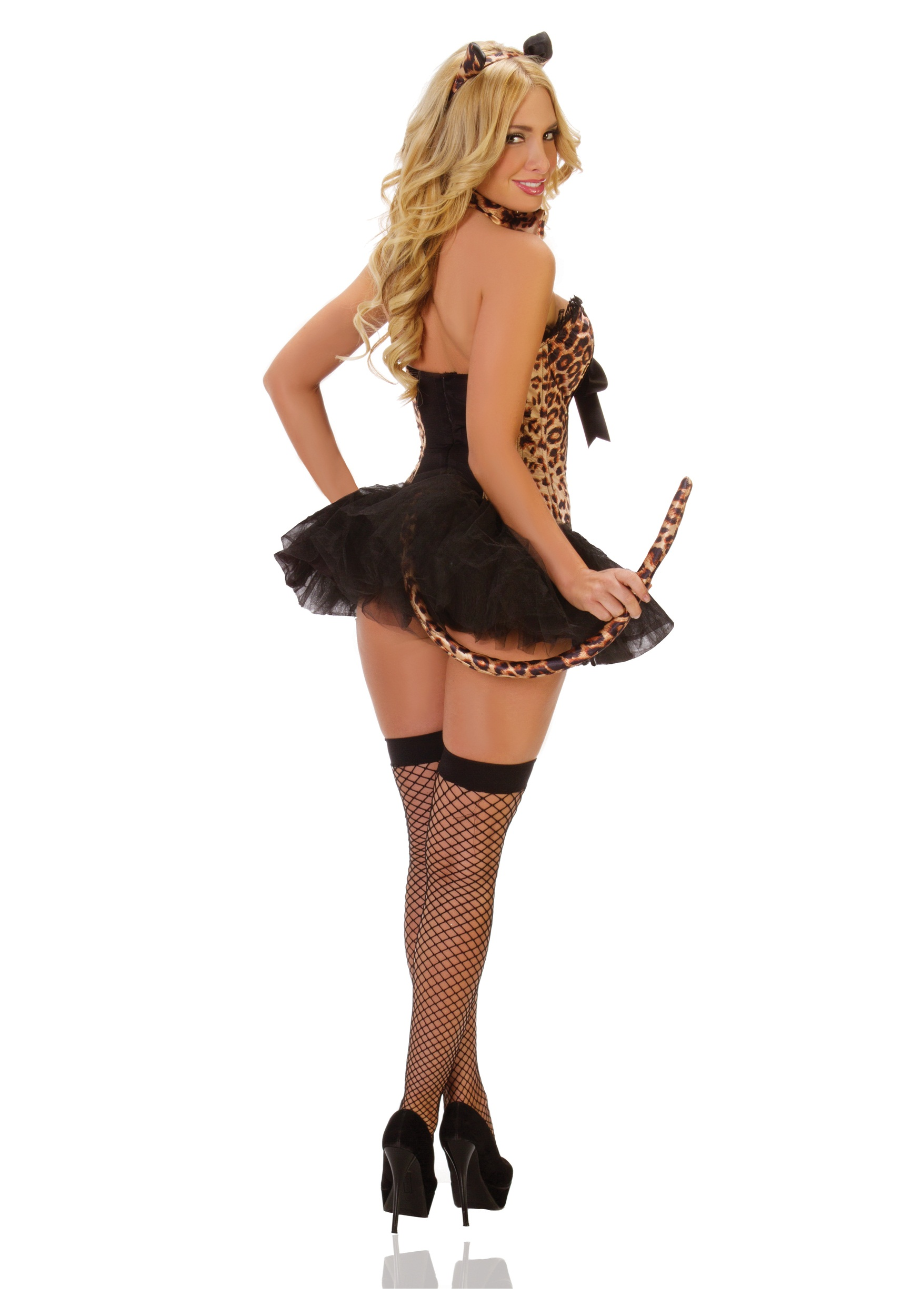 Deluxe Sexy Leopard Costume