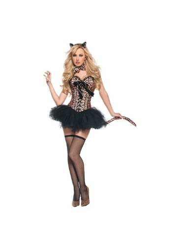 Click Here to buy Deluxe Sexy Leopard Costume from HalloweenCostumes, USA Funds & Shipping
