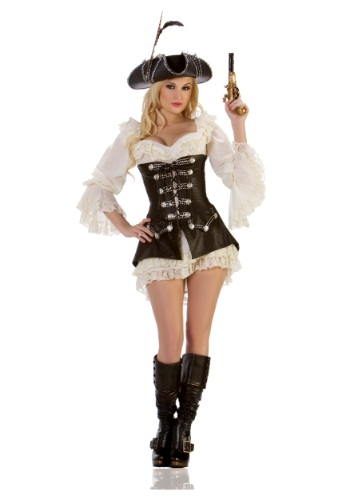 Sexy Rouge Pirate Costume - Women Halloween Pirate Costumes