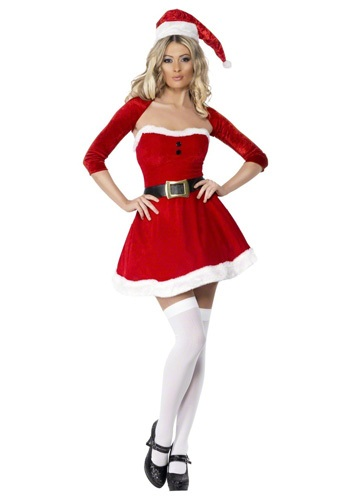 Click Here to buy Sexy Santa Babe Costume from HalloweenCostumes, USA Funds & Shipping