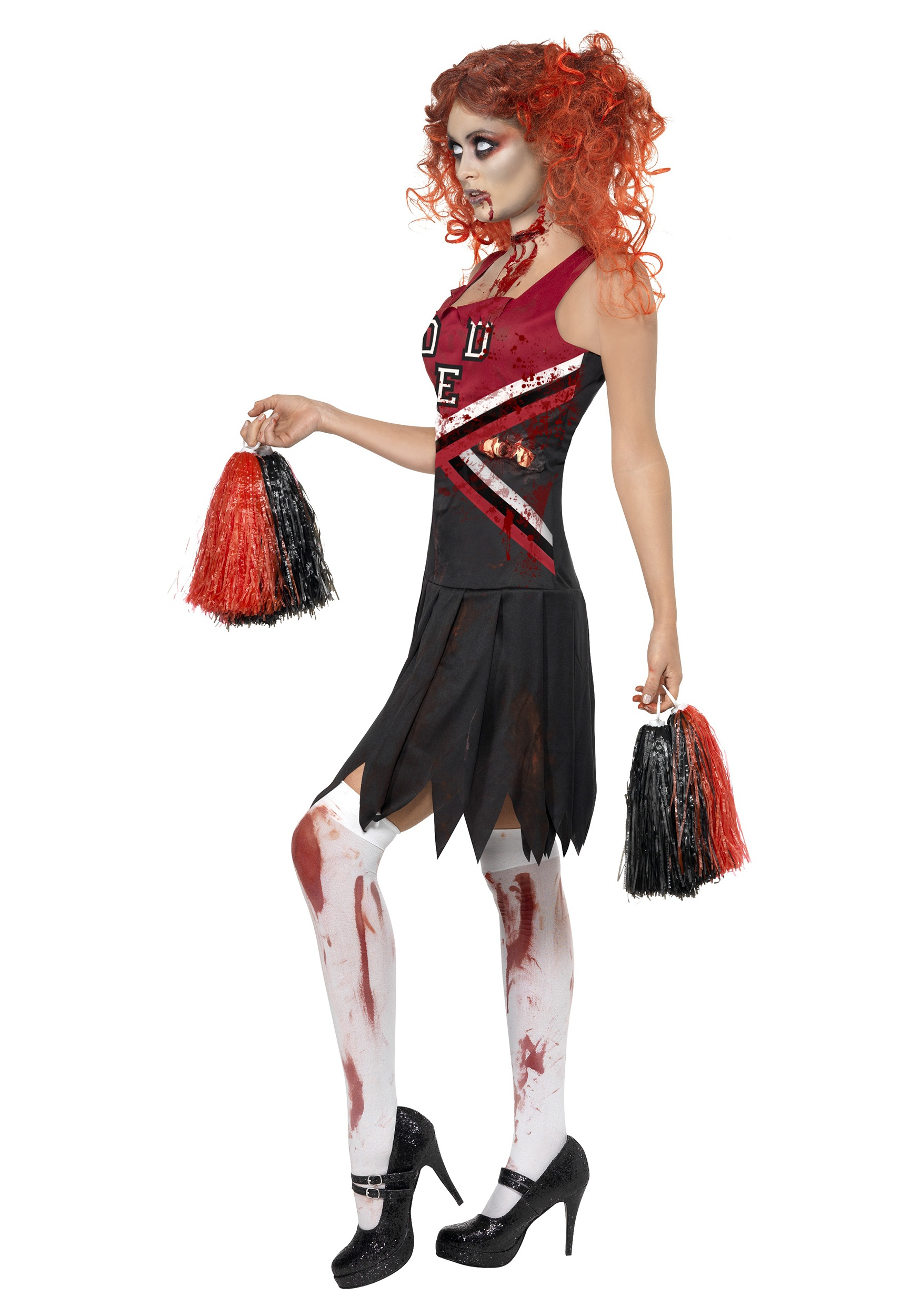 Zombie Cheerleader Costume Zombie Cheerleader Costume Alt1 Zombie Cheerleader Costume Alt2 ...  sc 1 st  Halloween Costumes & Zombie Cheerleader Costume