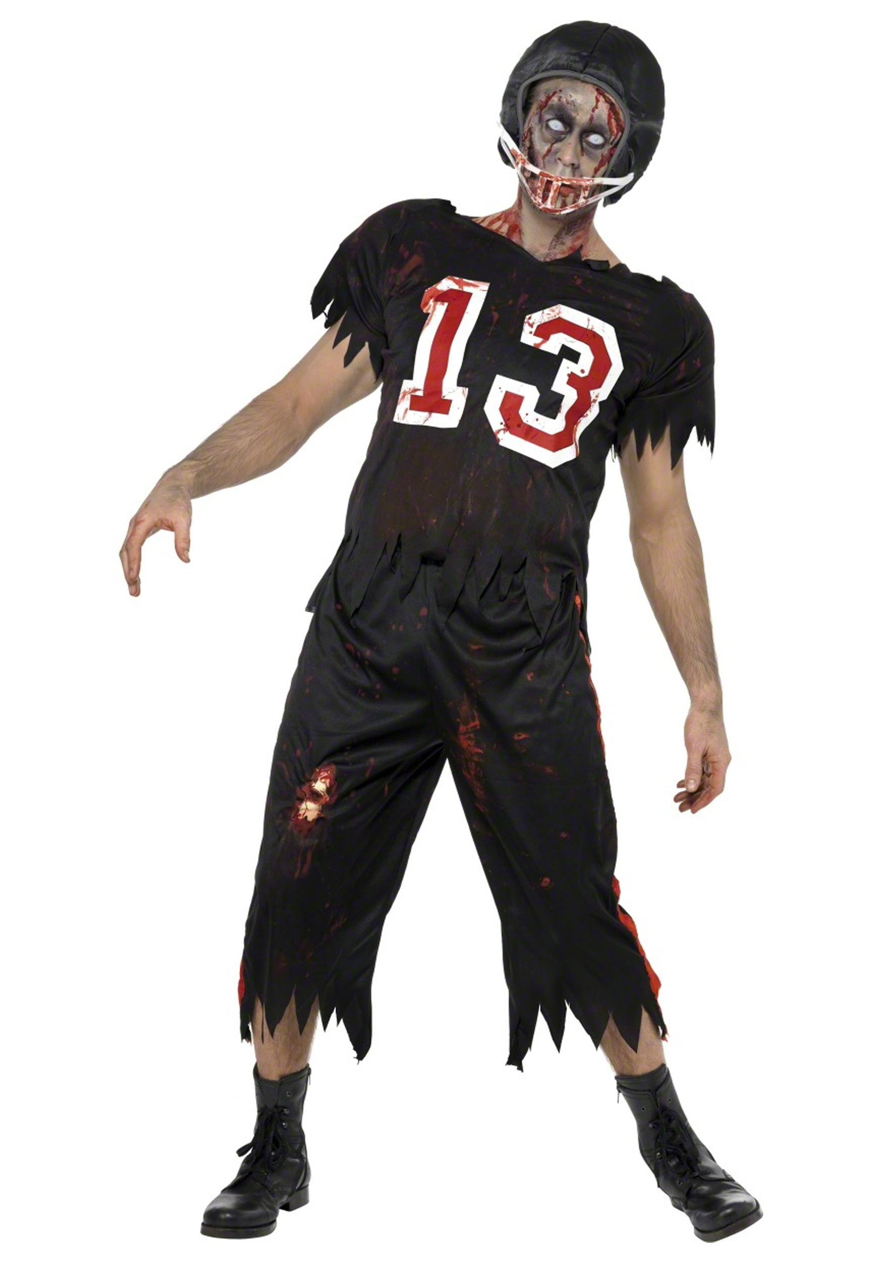 Halloween Costumes Zombie Football Player