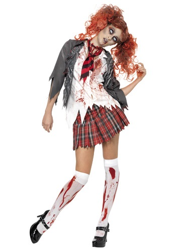 Click Here to buy School Girl Zombie Costume from HalloweenCostumes, CDN Funds