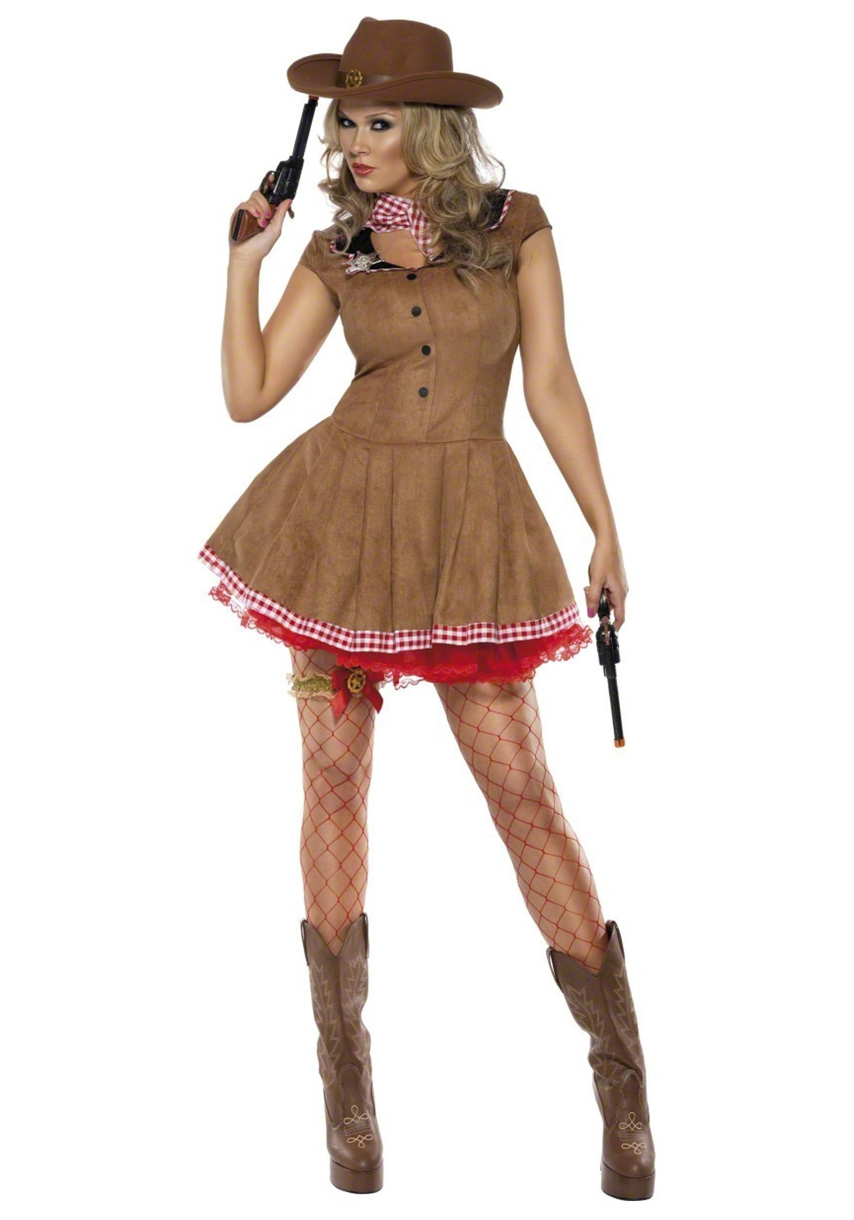 Awe Inspiring Wild West Cowgirl Costume Short Hairstyles For Black Women Fulllsitofus