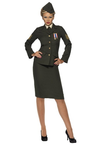 Click Here to buy Sexy Wartime Officer Costume from HalloweenCostumes, CDN Funds
