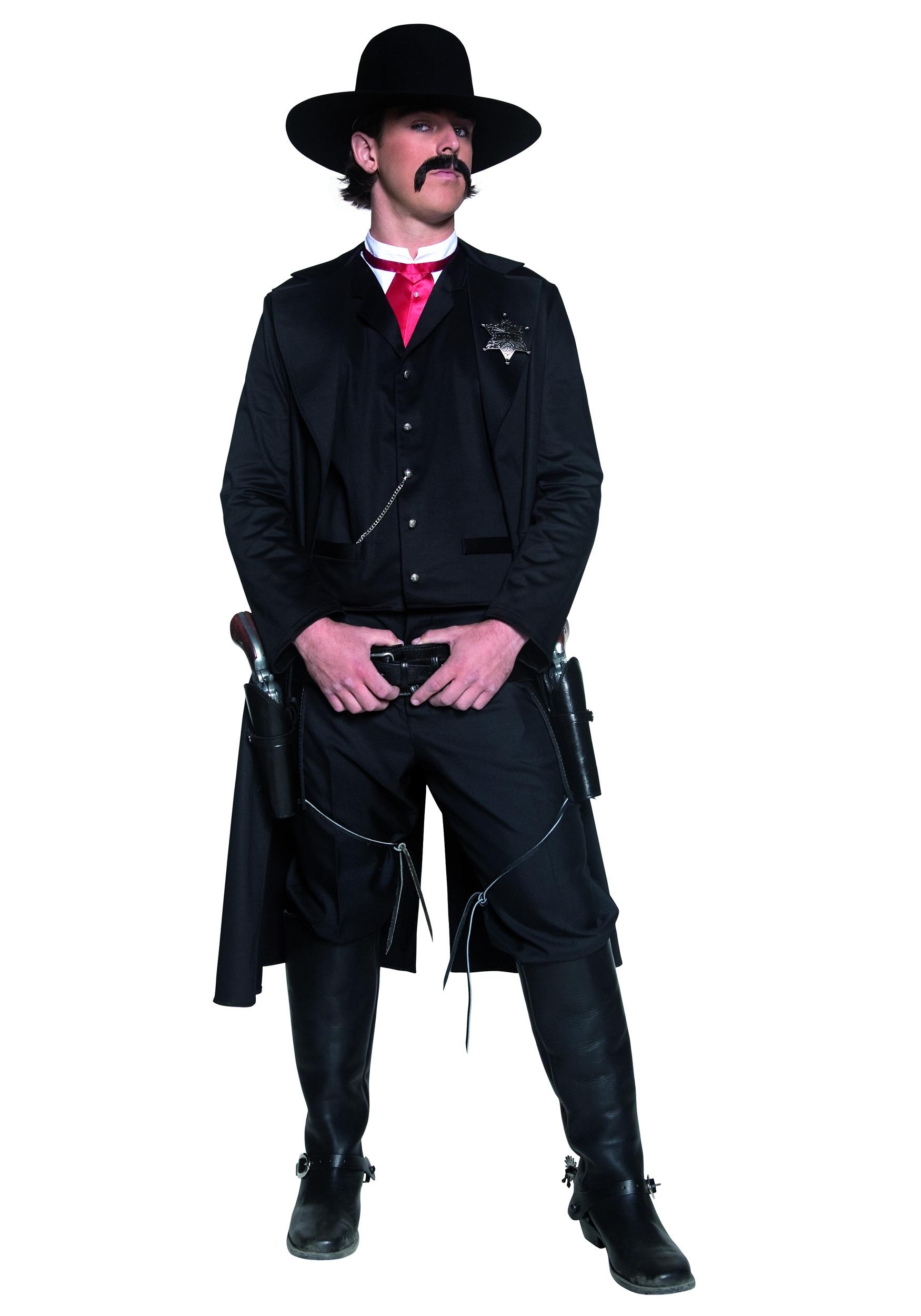 American Sheriff Costume Mens Western Sheriff Costume