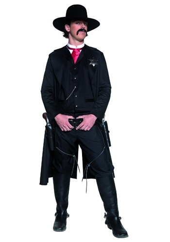 Click Here to buy Mens Western Sheriff Costume from HalloweenCostumes, USA Funds & Shipping