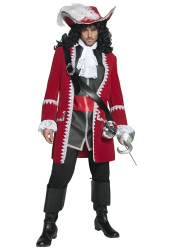 Mens Regal Pirate Captain Costume SM36174