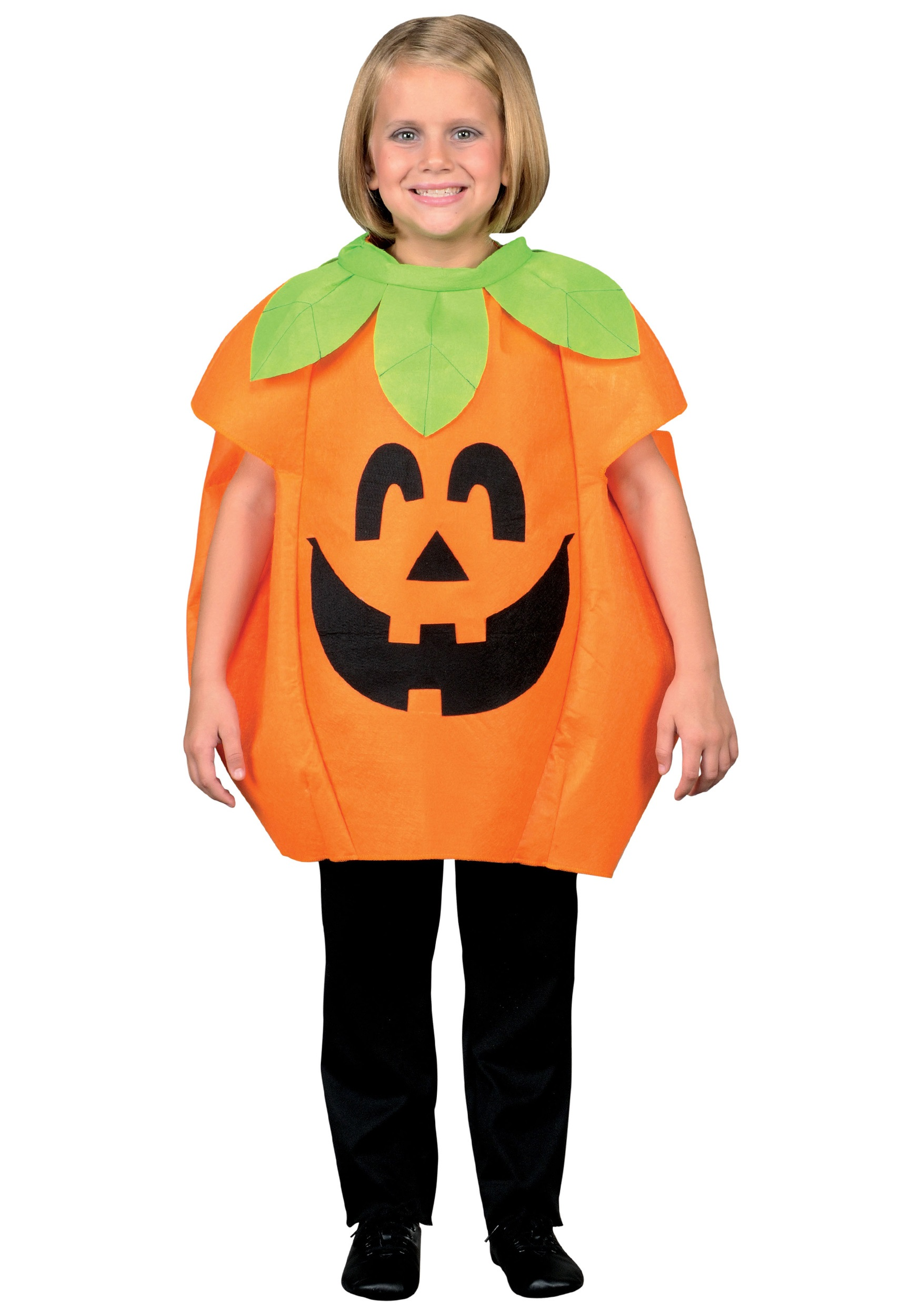 Little Girl Pumpkin Costume Child Little Pumpkin Costume