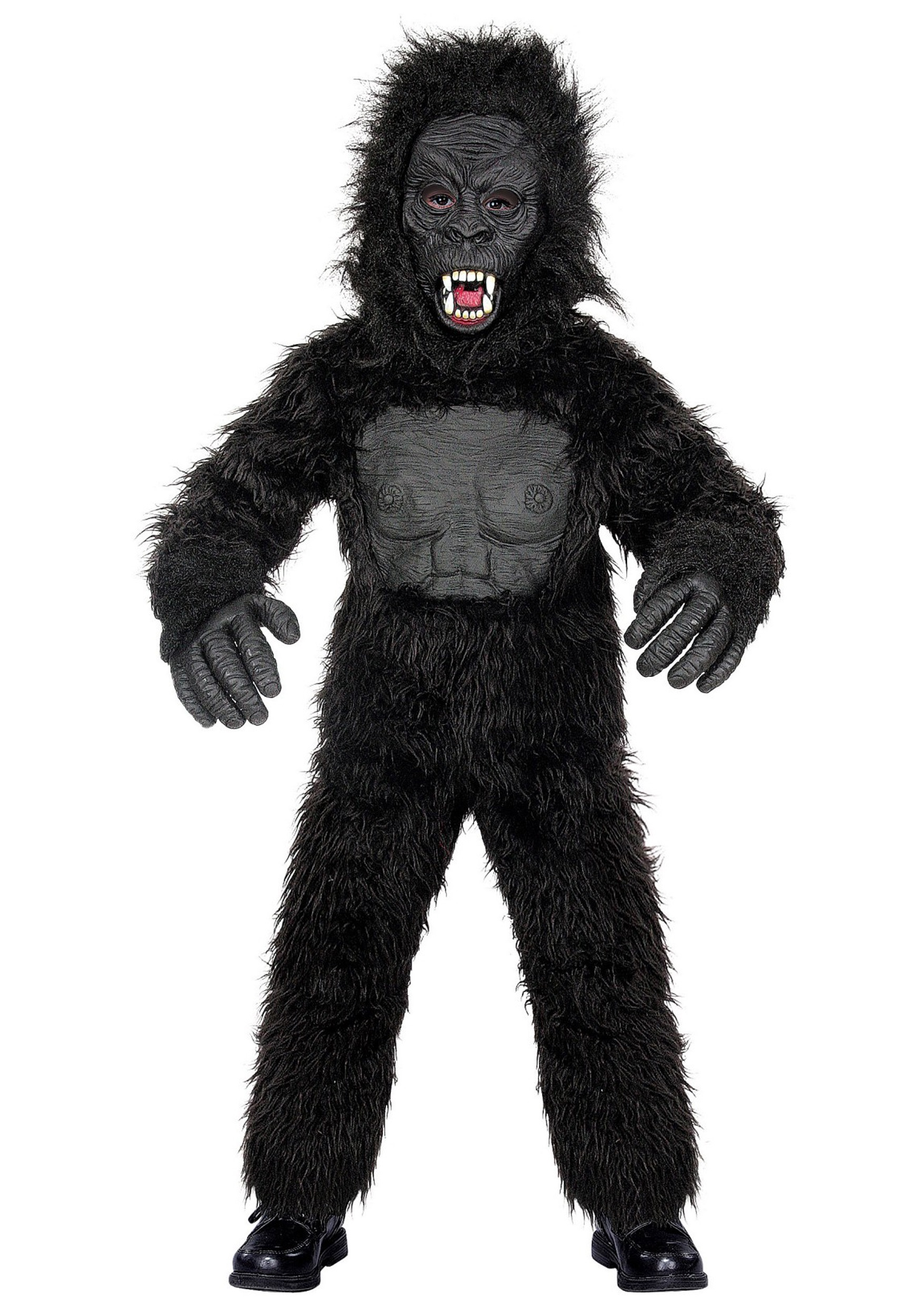 Gorilla Costumes & Suits For Kids & Adults - HalloweenCostumes.com