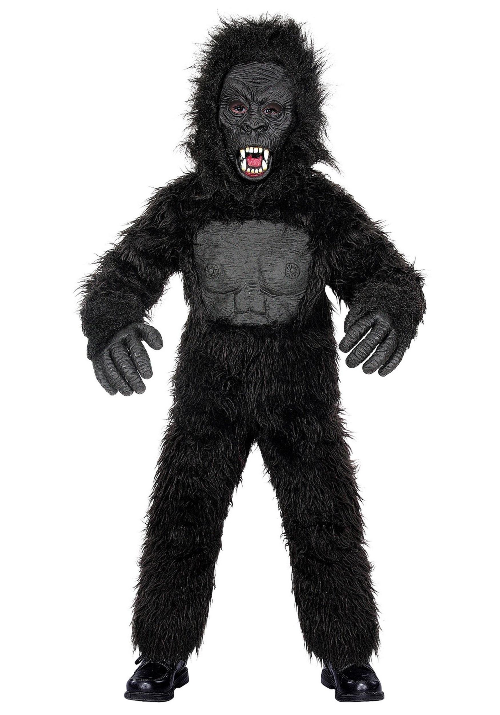 Gorilla For One Kids Gorilla Costume