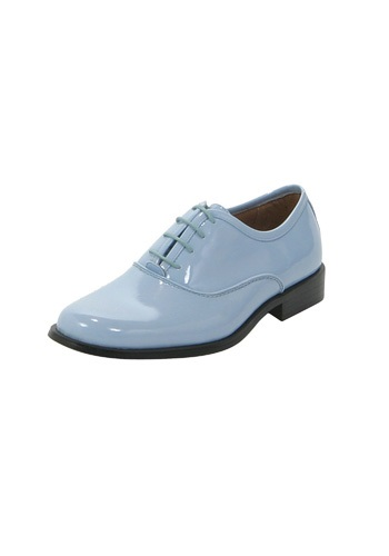 Baby Blue Tuxedo Shoes By: Fun Costumes for the 2015 Costume season.