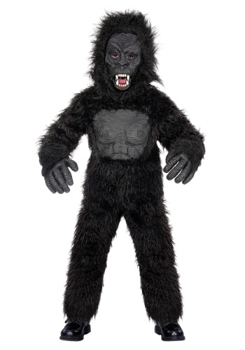 Click Here to buy Teen Gorilla Costume from HalloweenCostumes, USA Funds & Shipping