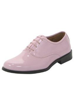 Pink Tux Shoes